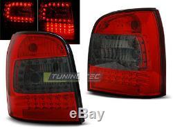 NOU! Stopuri pentru Audi A4 B5 94-01 AVANT Rou de fum cu LED-uri FR LDAU94EN XI