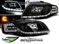 Neuf Feux Avant Phares Lpauc5 Audi A4 B7 2004 2005 2006 2007 2008 Led Tube