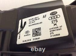 Neuf OEM Phare optique Audi A3 S3 RS3 8V P1 Bi Xenon LED 8V0941006C Avant droite