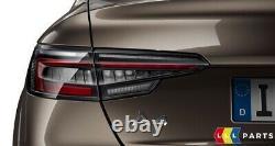 Neuf Original Audi A4 B9 2016- Blackline Arrière LED Feux Arrières Paire Set