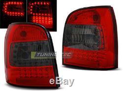 OFFER Tail Lights AUDI A4 B5 94-01 AVANT Red Smoke LED FR LDAU94ES XINO FR