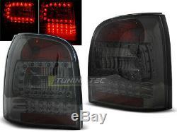 OFFER Tail Lights AUDI A4 B5 94-01 AVANT Smoke LED FR LDAU95ES XINO FR