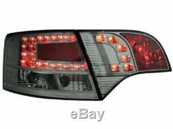 OFFER Tail Lights AUDI A4 B7 04-08 AVANT Smoke LED FR LDAU39EL XINO FR