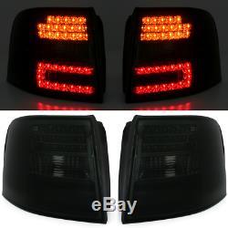 OFFER Tail Lights AUDI A6 C5 4B 97-04 AVANT Smoke LED Depo FR LDAU44ES XINO FR