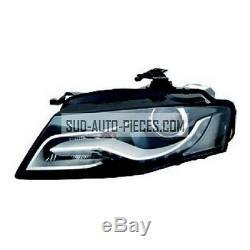 Optique Avant Gauche Audi A4 D3S LED + Electrique