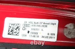 Org. Audi A6 S6 4G Avant Sbbr Feux Arrière LED Feu de Position Lumières Queue