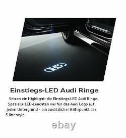 Original Audi A3 A6 A7 A8 Q3 Q7 Tt R8 LED Éclairage D'em Marchement Anneaux