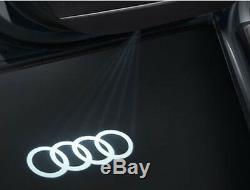 Original Audi Entrée LED Audi Anneaux Porte Éclairage A3 A4 A5 A6 R8 4G0052133G