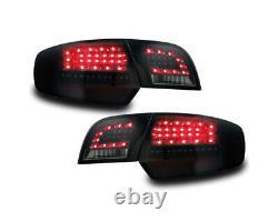 Original Litec LED Feux Arrières Kit Noir Fumee Pour Audi A3 8P Sportback 03-08