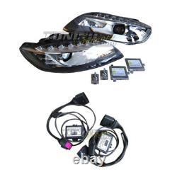 Original Valeo Facelift Phares Xénon LED Tfl + Adaptateur Pour Audi Q7 4L