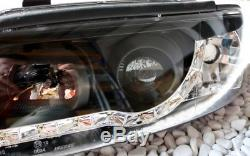 PHARE AVANT SET pour Audi A4 B5 en LED Lumière de circulation Diurne CFF