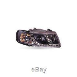Paire de PHARES Pour Audi A3 De 96/03 Neuf Bandeau LED Berline Tuning