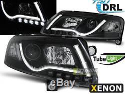 Paire de Phares Avant LED DRL à l'intérieur LTI Light Tuyau AUDI A6 4F C6 Xénon