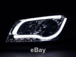 Paire de feux phares avant Audi A3 8P/8PA de 2003 a 2008 Daylight Led Chrome