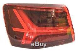 Phare Arrêt Arrière Sx pour Audi A6 2014 IN avant Sw Externe LED Rouge