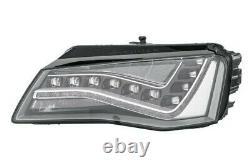 Phare Avant Gauche LED Pour Audi A8 2010 IN Avant