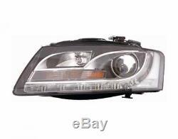 Phare Avant Xenon Droit Audi A5 2007-2011 À Led Avec Parabole Noire