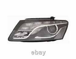 Phare Avant Xenon Droit Audi Q5 2008-2012 À Led Avec Parabole Noire