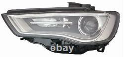 Phare Avant Xénon LED Audi A3 2012-2016 Gauche