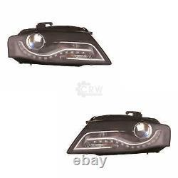 Phare Xénon Lot LED avec Moteur Pour Audi A4 Avant 8K5 B8 Toute Route 8KH