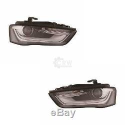 Phare Xénon Lot LED avec Moteur pour Audi A4 avant 8K5 B8 Toute Route 8KH D3S