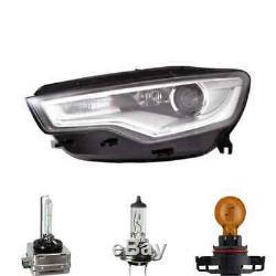 Phare à gauche Xenon LED pour Audi A6 Allroad avant Inclus Lampes