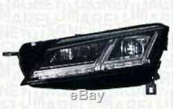 Phare avant Droite pour Audi Tt 2014 Jusqu'à LED