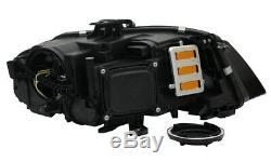 Phare avant Set DRL LED Feux Diurne Audi A4 B8 8K Année Fab. 2008-2011 Noir