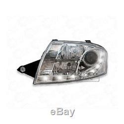Phare avant Set LED Éclairage Diurne Optique pour Audi Tt 8N Chrome