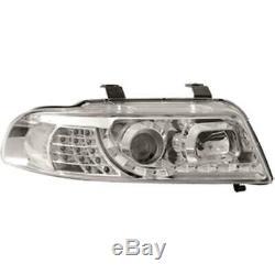 Phare avant Set pour Audi A4 B5 Type 8D 99-01 LED Dragon Lumières Verre Clair/