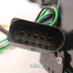 Phare avant Set pour Audi A6 C5 Type 4B 97-01 Verre Clair/Noir Tube Lights LED