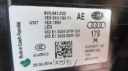 Phares Audi A3 S3 plein LED 8V avant-gauche à partir de 2012-2016 HELLA