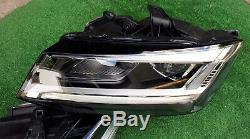 Phares Audi Q2 81A plein LED Lot avec Appareil de Commande Gauche Droite