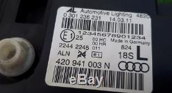Phares Audi R8 420 plein LED Gauche