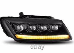 Phares Avant Full Light Bar Drl + Séquentiel + Full Led Audi Q5 De 2009 2018
