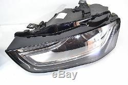 Phares Bi-Xénon Courbe de Lumière Led Audi A4 Facelift à Gauche