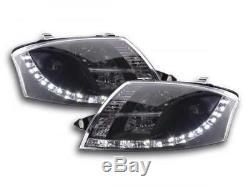 Phares Daylight a LED avec look feux de jour Audi TT 8N an. 99-06 noirFKSFSAI0