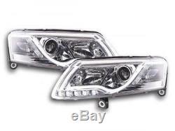 Phares Daylight au xenon a LED avec barre lumineuse et feux de jour Audi A6 4F