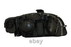 Phares LED DRL Xenon Look convient pour AUDI A4 B7 2004-2008 Noir