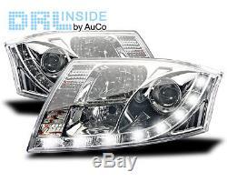 Phares Projecteurs avec Feux Diurnes Audi TT (8N) 2 connecteurs