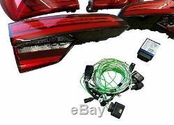 Pour Audi A4 B9 avant Original Lot LED Feux Dynamique Clignotant + Adaptateur