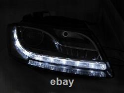 Pour Audi A5 8T 08-12 RS5 Look Pare-Chocs Calandre Nid D'Abeille + LED #05