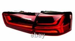 Pour Audi A6 4G 11-14 RS6 Look Calandre Nid D'Abeille + Voir + LED Feux Arrières