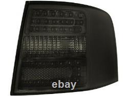 Pour Audi A6 S6 RS6 4B C5 Avant Feux Arrières Noir Cristal À LED 1998-2005