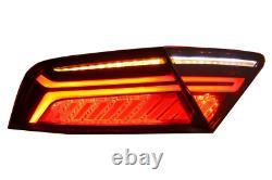 Pour Audi A7 4G 11-14 RS7 Look Calandre Nid D'Abeille + Dynamique LED Feux