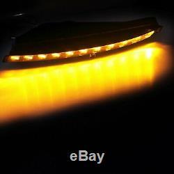 Pour Audi Q7 4L 2007-09 Orange Clignotant Ampoules blanc xénon feux diurnes G+D