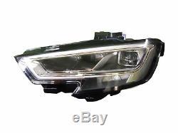 Projecteur Feux avant dx pour A3 2016-I 3-5 Portes Et Sedan Bixenon Full LED