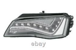 Projecteur Phare Avant SX LED Pour Audi A8 2010 IN Avant
