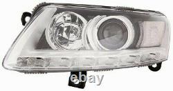Projecteur Phare Avant sx pour Audi A6 2008 Au 2010 Xénon Avec DRL LED