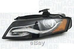 Projecteur Phare avant Dx pour Audi A4 2010 au 2011 Bi Xenon LED Afs
